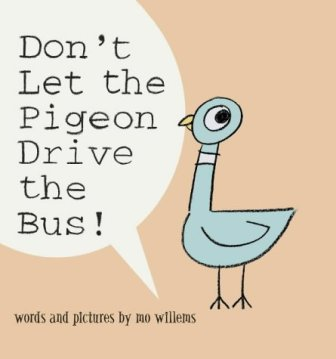 Cover shot of the book Don't Let the Pigeon Ride the Bus